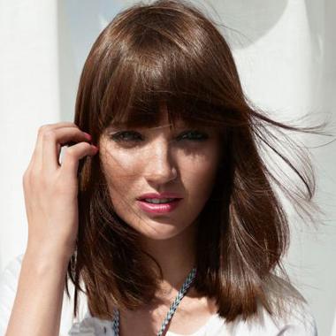 Frisuren fur schulterlanges dunnes haar
