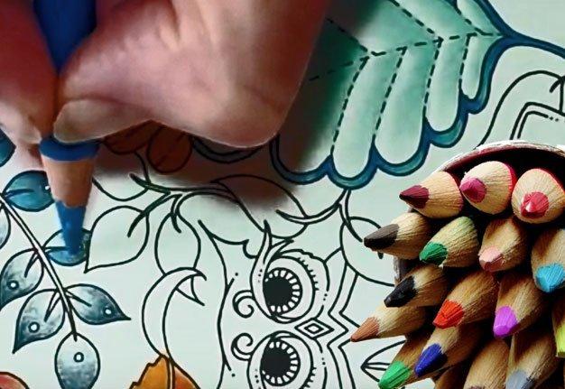 Malbücher für Erwachsene: Wie Ausmalen Stress abbaut