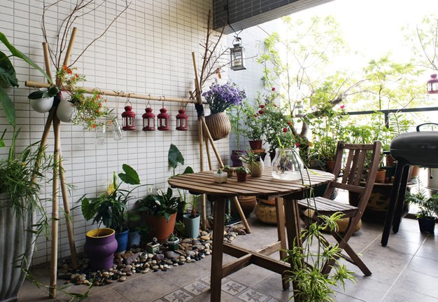 Wenig Platz? Mehr Grün! So spriesst der Garten auf dem Balkon