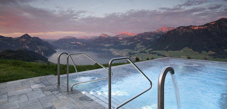 Das sind die schoensten Wellnesshotels der Schweiz