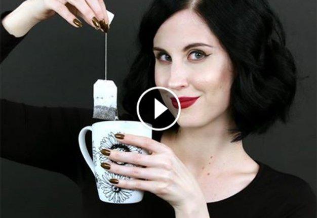 Eingerissene Nägel kannst du tatsächlich mit einem Teebeutel reparieren
