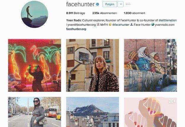 Der beste Schweizer Streetstyle Blog kommt von The Facehunter.