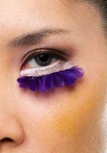 Klimper-Wimpern: Falsche Wimpern richtig ankleben