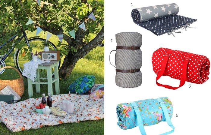 Picknick ideen die picknick decke - Picknick ideen ...