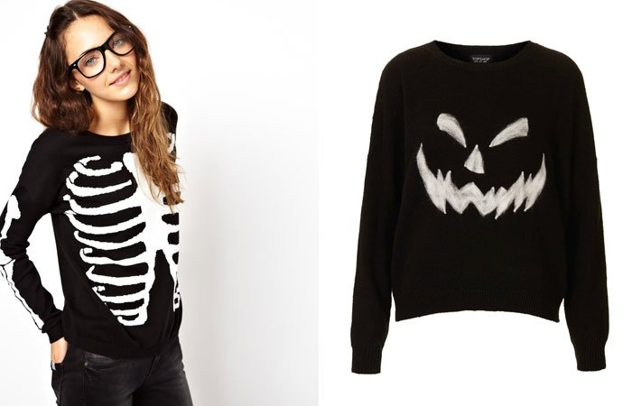 halloween outfit ideen pullover. Black Bedroom Furniture Sets. Home Design Ideas