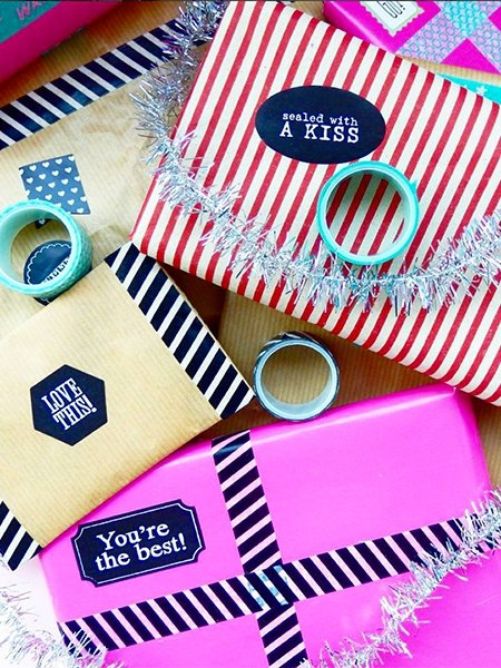 ideen zum geschenke verpacken kleine botschaften. Black Bedroom Furniture Sets. Home Design Ideas