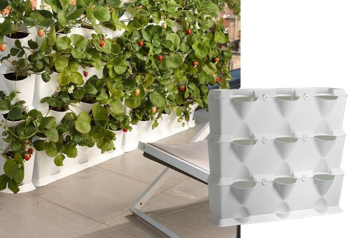 gartentrend vertikal balkongarten zum aufstellen. Black Bedroom Furniture Sets. Home Design Ideas