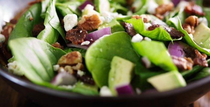 gr ner wird 39 s nicht rezept f r spinat avocado salat. Black Bedroom Furniture Sets. Home Design Ideas