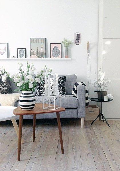Einrichtungstipp nr 6 farben und materialien kombinieren - Wohnung einrichten wie ...