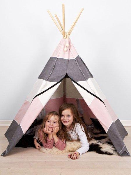 weihnachtsgeschenke basteln kinder tipi selbermachen. Black Bedroom Furniture Sets. Home Design Ideas