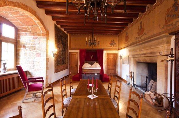 Was könnte romantischer sein als eine Übernachtung im Schloss?