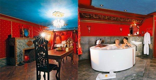 Das Romantikhotel Zeit & Traumhotel bietet Raum für erotische Abenteuer.