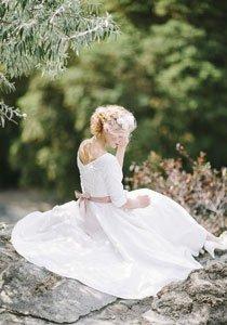 Nostalgie pur! Das Vintage Hochzeitskleid