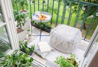 Balkon gestalten: Mit diesen Tipps wird dein Balkon zur echten Oase