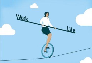 In der Zvieripause: Tipps für eine gute Work-Life-Balance
