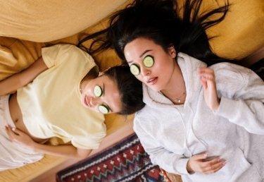 Wellness Beauty Behandlung selber machen zuhause