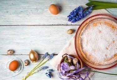 Osterkuchen selbst gebacken