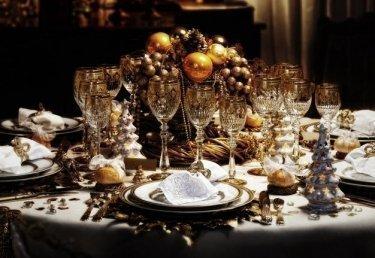 Weihnachtliches Festmahl