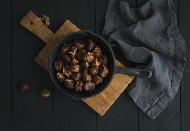 Marroni Rezepte und Zubereitung: Endlich ist Marroni Saison