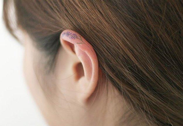 Ohrtattoos: Dieser Ohrschmuck geht garantiert nicht verloren