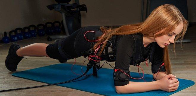 Elektrostimulationstraining: Neuer Fitness-Trend setzt auf Strom