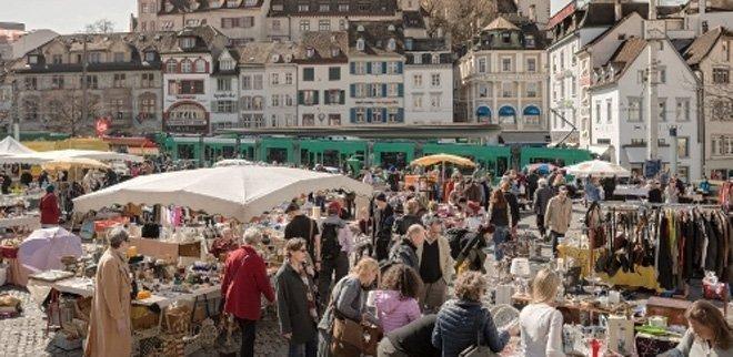 Flohmarkt Barfuesserplatz