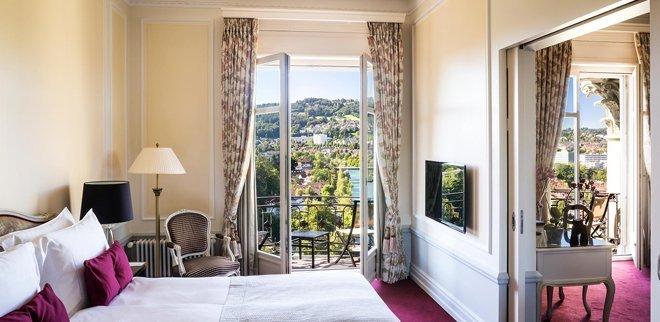 Bellevue Palace Bern: Luxushotel mit viel Persönlichkeit
