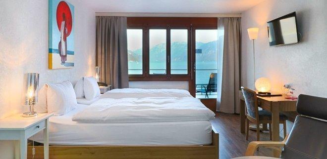 Ein besonderes Highlight des Schweizer Romantik Hotel Seeblick ist eine Übernachtung im Baumhaus.