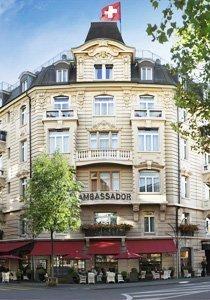 Wettbewerb: Gewinne eine Übernachtung im Small Luxury Hotel Ambassador Zürich im Wert von 610 Franken
