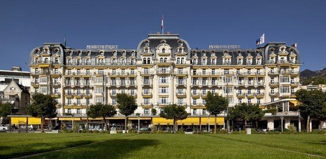 Gewinne eine Übernachtung für zwei im Fairmont Le Montreux Palace