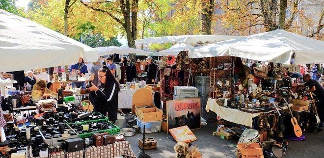 Flohmarkt Buerkliplatz