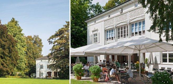 Cafés Basel: Villa Merian