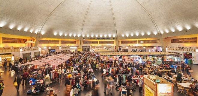 Flohmi Basel Markthalle
