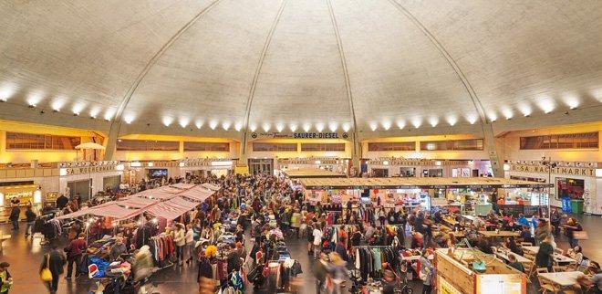 Veranstaltungen im Januar: Nachtflohmarkt Basel