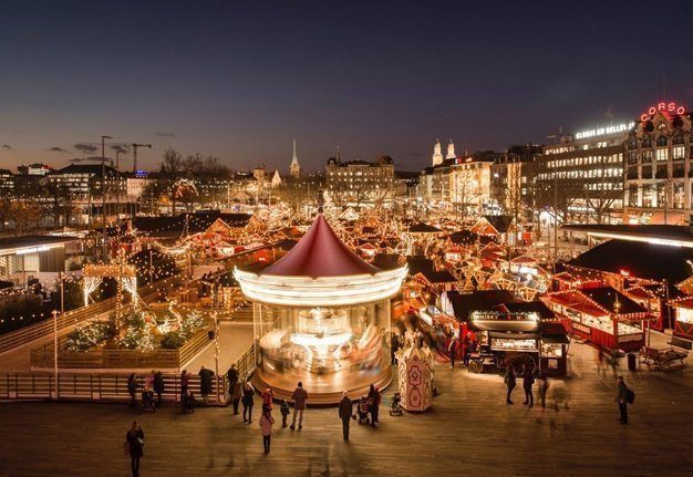 Alles ist erleuchtet: Die schönsten Weihnachtsmärkte der Schweiz