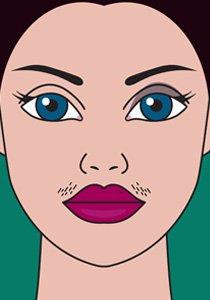 Gesichtshaare entfernen: Alle Enthaarungsmethoden, die du kennen musst