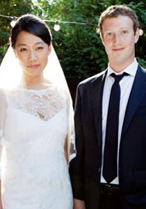 Mark Zuckerberg Ehefrau