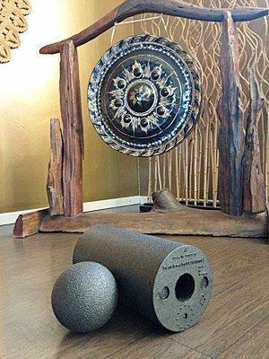 Faszien-Training: Übungen mit der Blackroll