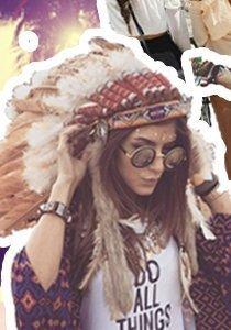 Mode liebt Musik: Die 4 schönsten Festival Outfits