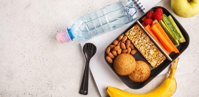 Gesunde Büro-Snacks