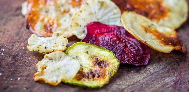Gesunde Büro-Snacks Gemüsechips