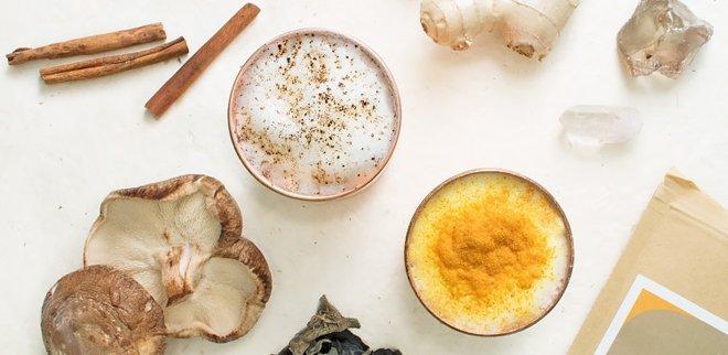 Moon Milk mit Kokos und Reishi