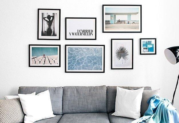 Wir machen Kunst! In drei Schritten zur eigenen Gallery Wall