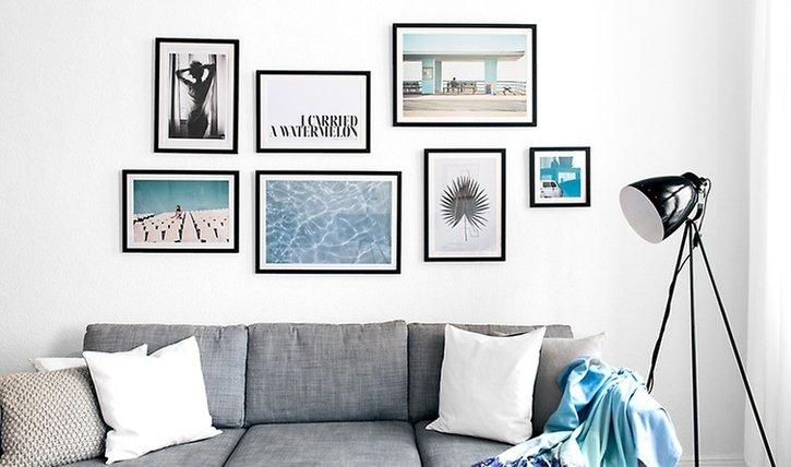 Gallery Wall: So einfach geht's!