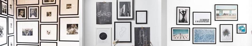 Die schönsten Gallery Walls zum Inspirieren lassen
