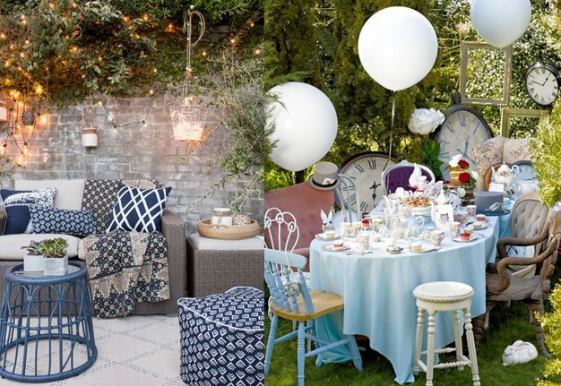 Mit diesen 18 Ideen machst du deinen Garten partytauglich