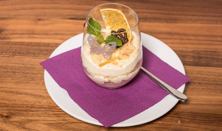 Glutenfreier Dessert: Zitronen Cake Tiramisu mit Rezept