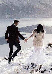 Wenn du diese Bilder gesehen hast, möchtest du auch eine Winterhochzeit!