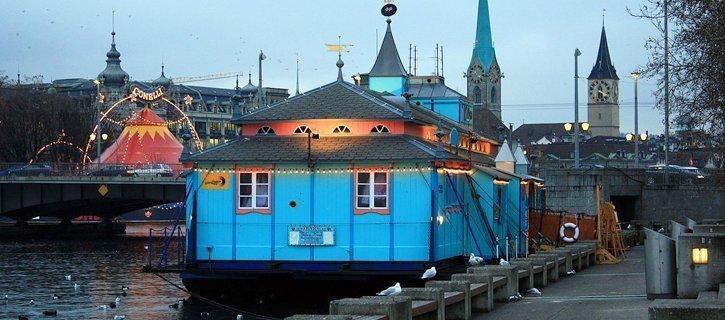 Die romantischen Restaurants in Zuerich