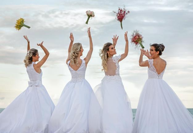 Hochzeitskleider 2019: Das sind die schönsten Brautkleider-Trends